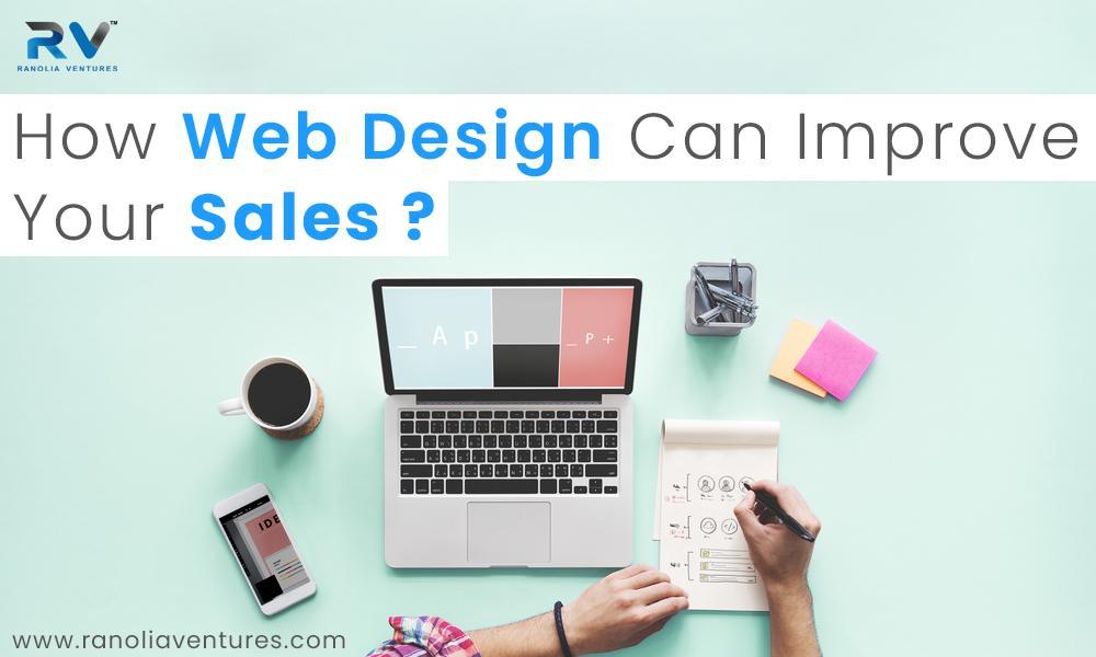 website design for sales