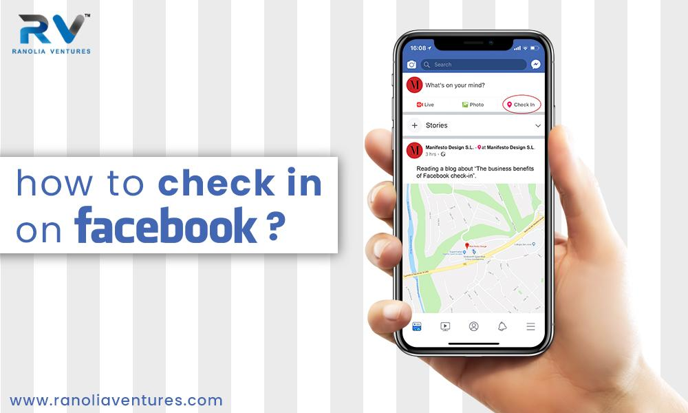 how to check in on facebook